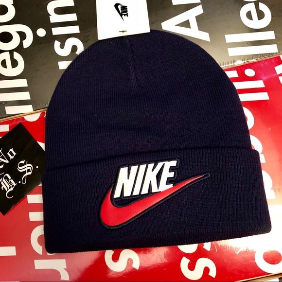 Nike X Supreme Beanie new navy 1b539666f8c